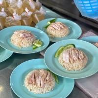 GO-ANG dan KUANG HENG (REKOMENDASI CHICKEN RICE DI BANGKOK, THAILAND)